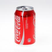 Blikje coca cola 33cl