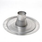 Dyka Kiezelbak aluminium 80mm