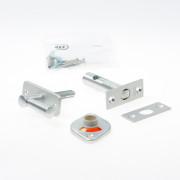 Nemef Instee kgrendel vij- en bezet WC-grendel aluminium F12705/4-50mm