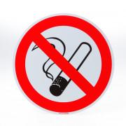 ATV Safety Roken verboden 200mm PVC