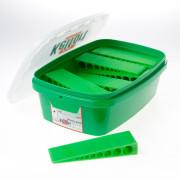 Kelfort Wig groen 150 x 45 x 25mm doos van 16 wiggen
