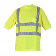 T-shirt vh-rws geel