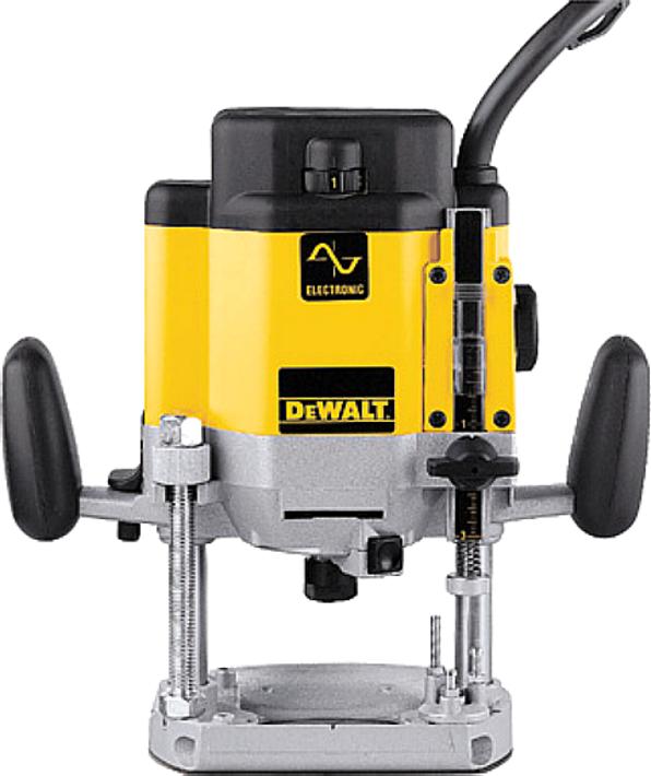 Dewalt Bovenfreesmachine Dw625e 2000W