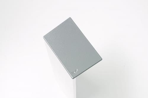 Argenta Proslide set eindkappen 40mm tbv. Wandmontage Aluminium