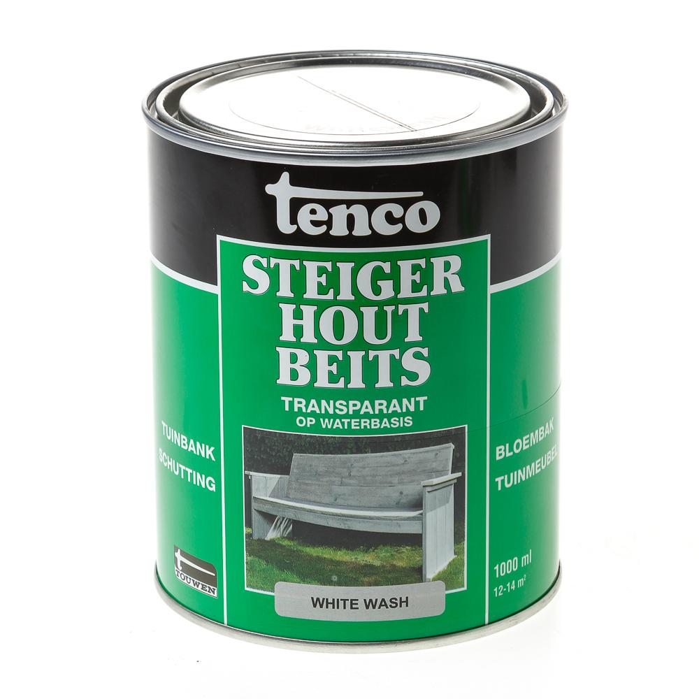 Tenco stijgerhoutbeits white wash 1L