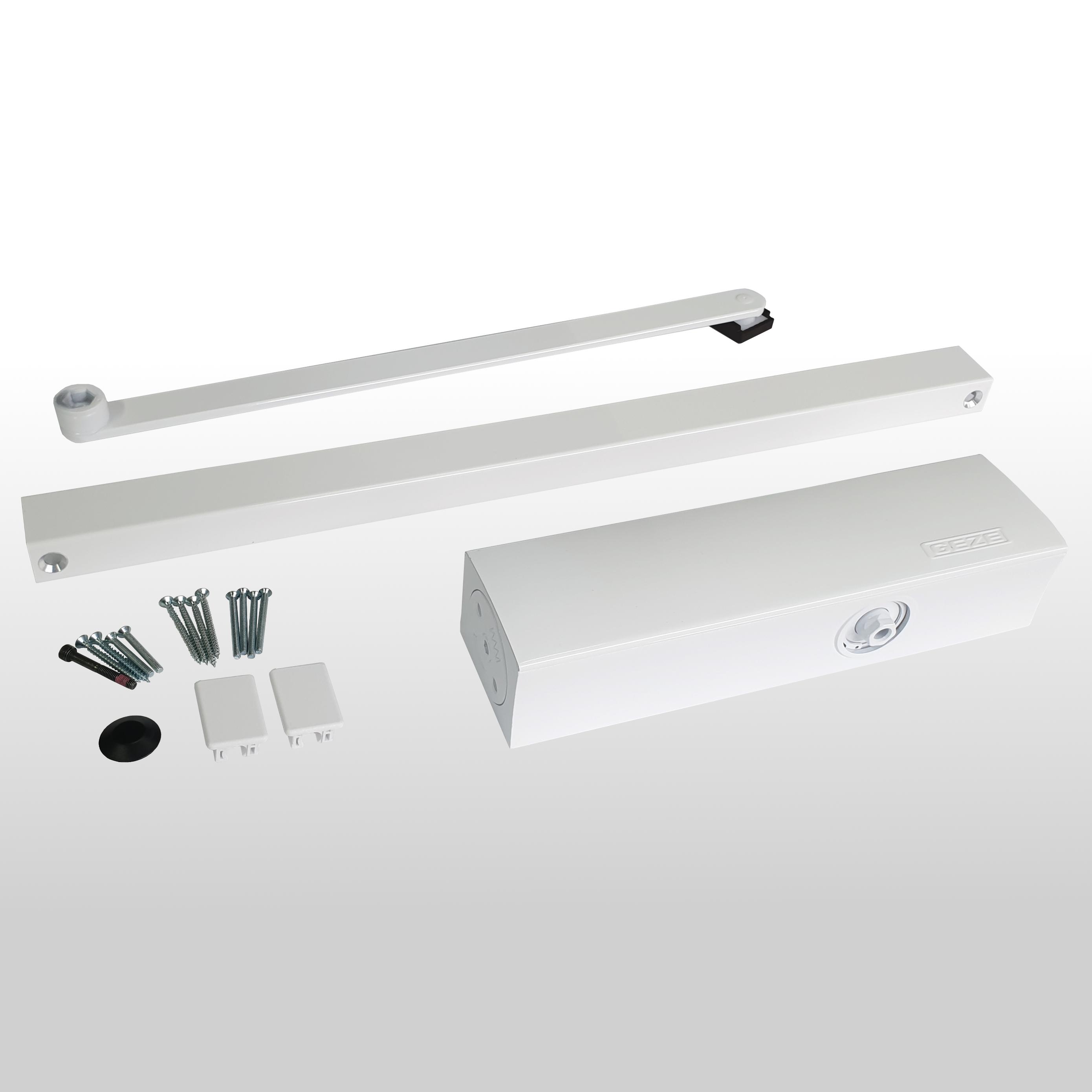 Deurdranger TS3000V wit inclusief glijarm (RAL 9016)